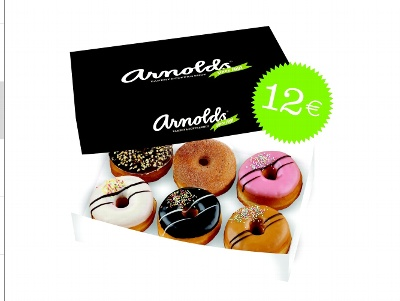 Arnolds Bakery & Coffee Shop Original 6-pack 12€ (